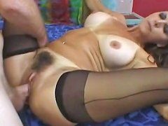 She Want To Be Fucked On Her Hairy Pussy
