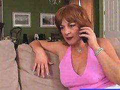 Horny Redhead Lady Sarah Enjoys A Rough Fucking Porn 55